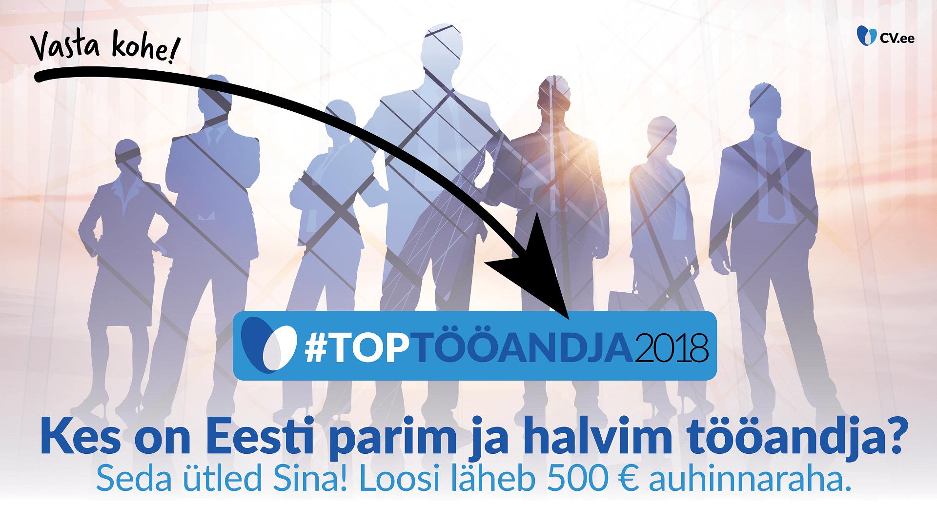 Osale CV.ee aasta olulisimas uuringus: kes on Eesti parimad ja halvimad tööandjad? 1