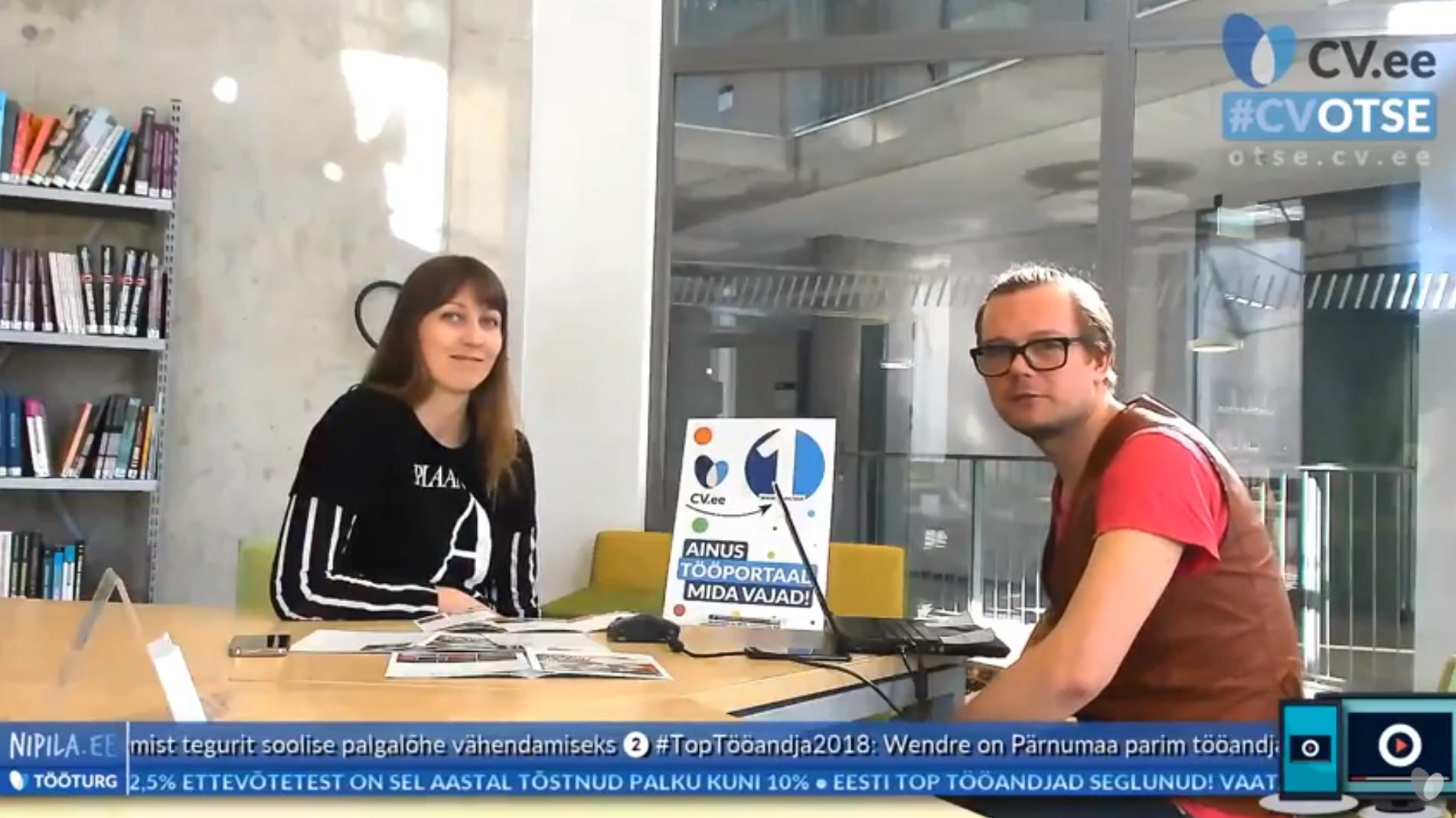 Nipila otsestuudio #6: tänasel Tallinna Ülikooli avatud uste päeval sai küsida ka karjäärinõu