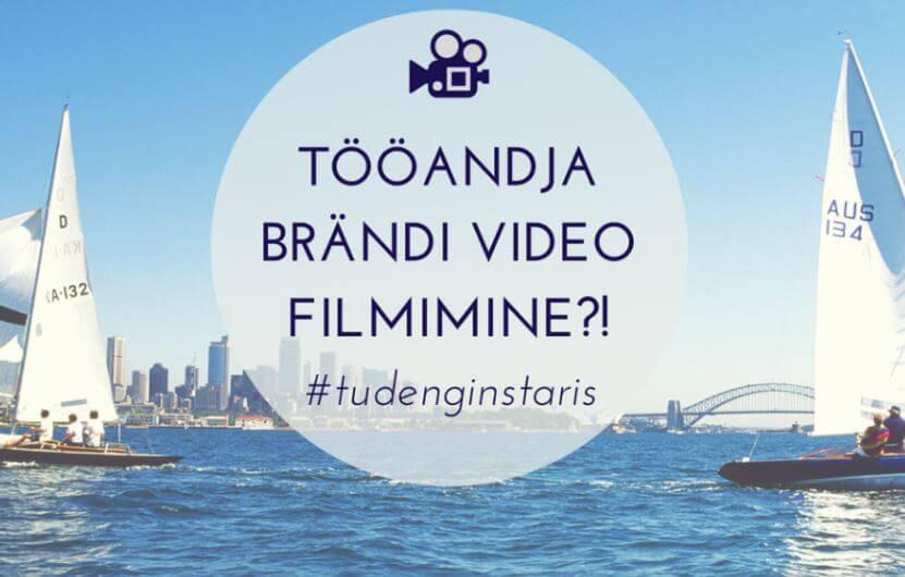 Tööandja brändi video filmimine?! 7
