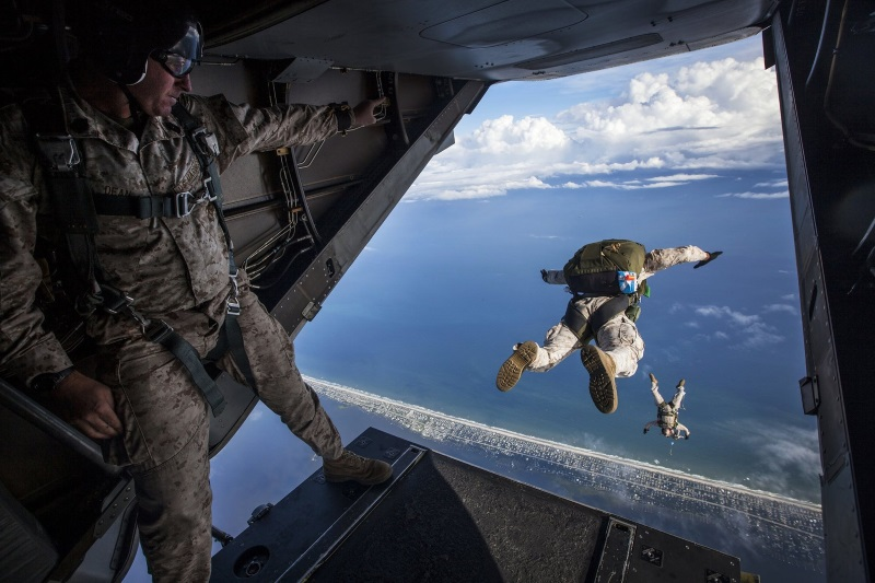 Прыжок с самолёта