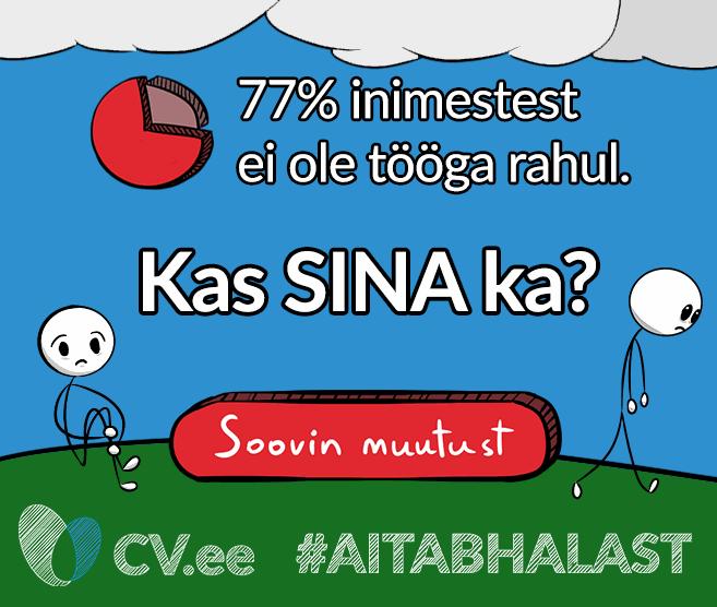 Mis on see, mida 71% inimesed teevad tööl olles ja millest võiks välja kujuneda Eestimaa uus rahvushümn?