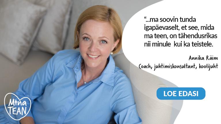 Annika Räim #minatean