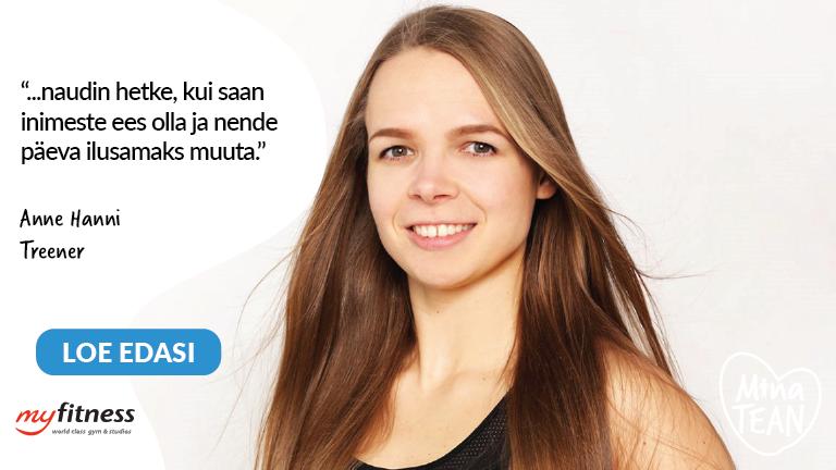 Anne Hanni #minatean