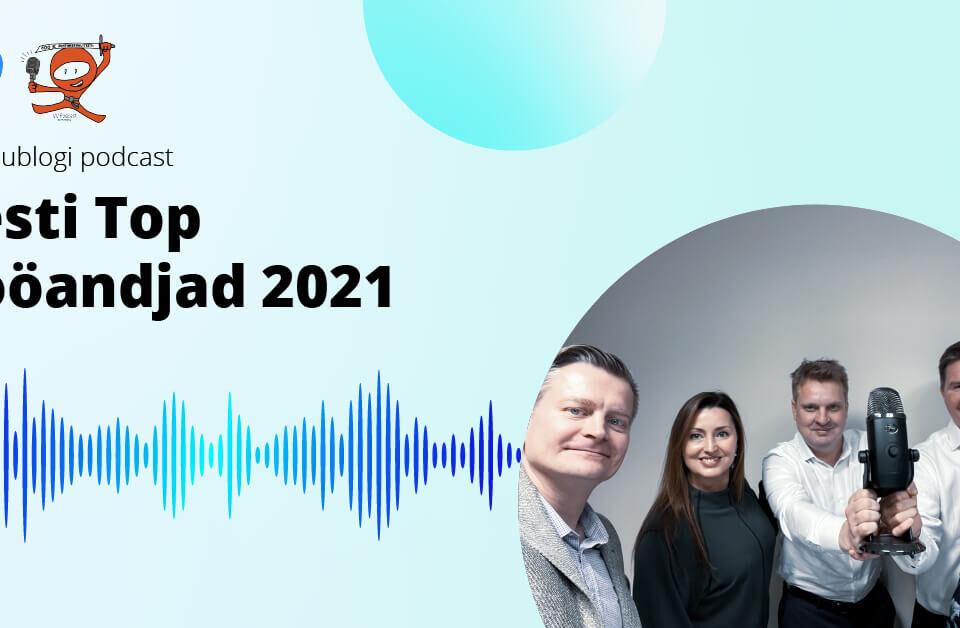 Kuula🎧 | 1# Tööelublogi podcast - Eesti Top Tööandjad 2021 3