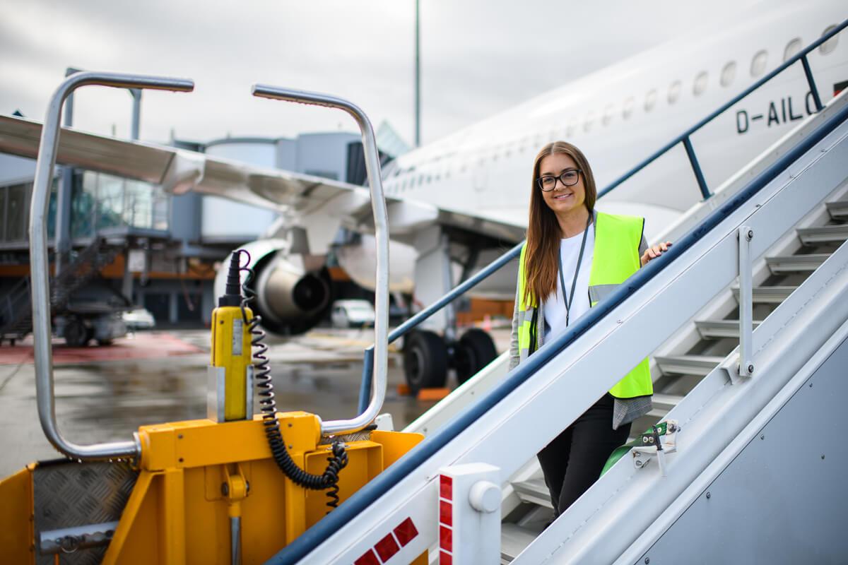 Töö lennujaamas - tähendusega töö, mis ühendab Eesti maailmaga 11