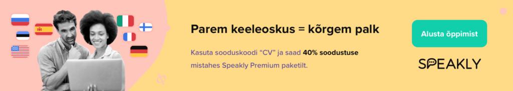 Speakly keelekood -40%