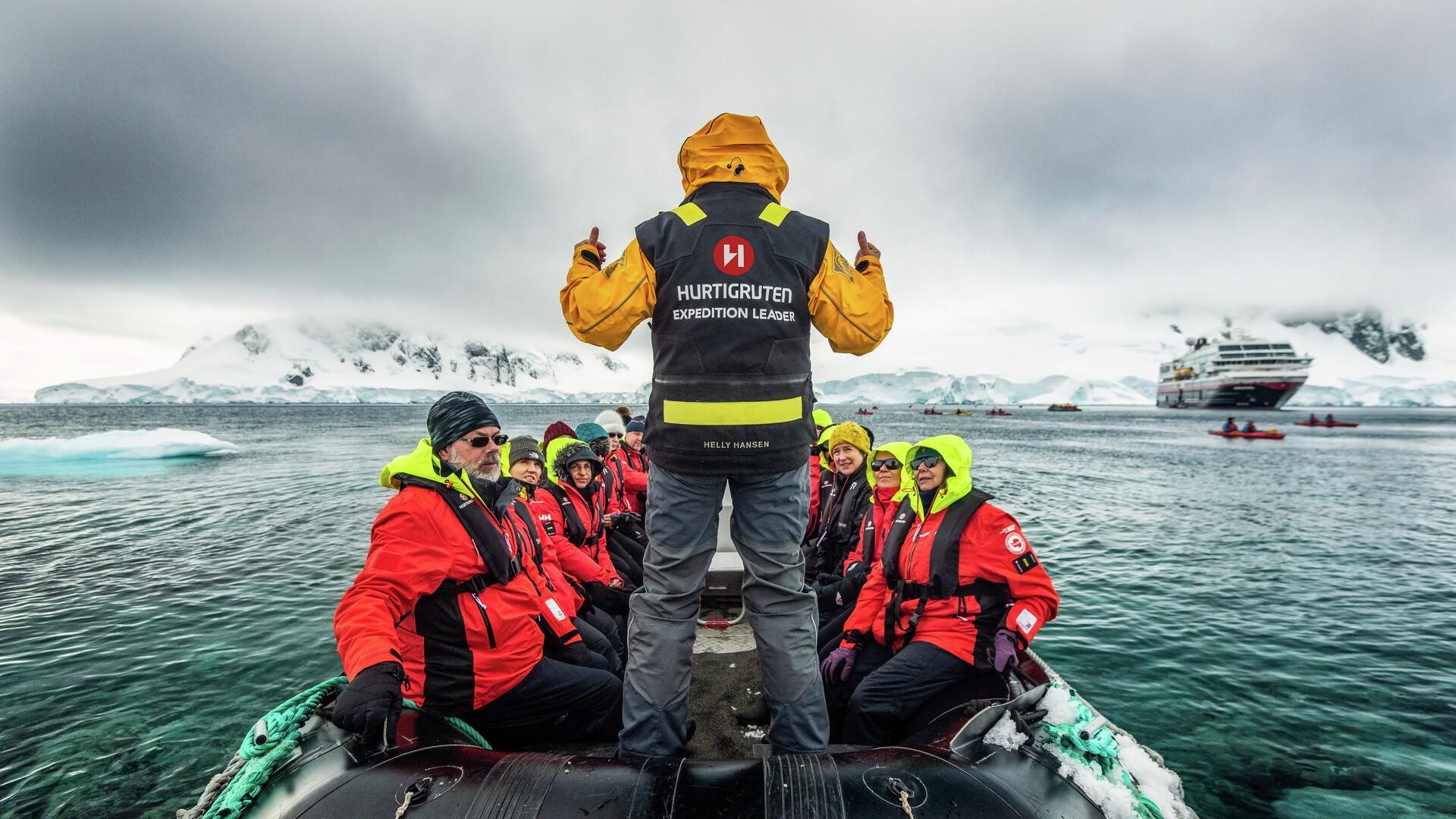 Reisiselli unistuste tööandja - Hurtigruten